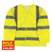 Hi-Vis Class 3 Waistcoat Yellow Large / X Large 52