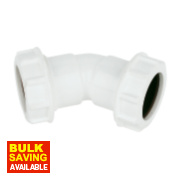 Universal Compression Waste 135° (45°) Bend 32mm