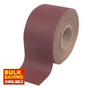 Flexovit Aluminium Oxide Sanding Roll 115mm x 25m 80 Grit