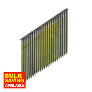 DeWalt Bright Collated Stick Framing Nails 2.8 x 63mm Pack of