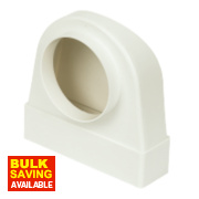 Manrose Round Appliance Connector White 120mm
