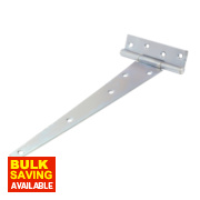 Medium Duty Tee Hinge Zinc-Plated 305mm Pack of 2