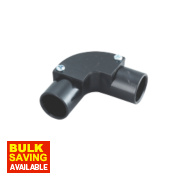 Tower Inspection Elbow 20mm Black Pack of 1