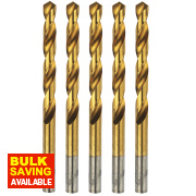 Erbauer Ground HSS Drill Bit 12mm Pack of 5