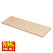 Melamine Shelves 800 x 300 x 19mm Pack of 2
