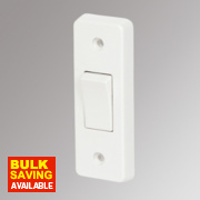 Crabtree 1-Gang 2-Way 10A Architrave Switch