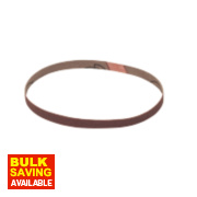 Cloth Sanding Belts 10 x 533mm 80 Grit Pack of 5