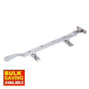 Casement Stay Polished Chrome 254mm