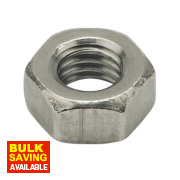Hex Nuts A2 Stainless Steel M5 100 Pack