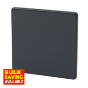 Varilight Jet Black Single Blank Plate