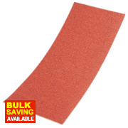 Sandpaper 1/3 Sheets Aluminium Oxide 80 Grit Unpunched Pack of 10