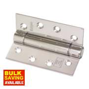 Eclipse Companion Hinge Polished Stainless Steel 76 x 102mm