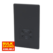 Varilight Jet Black Shaver Socket
