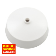 British General Ceiling Rose White