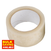 All-Weather Tape Clear 50mm x 25m