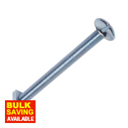 Roofing Bolts BZP M8 x 100mm Pack of 10