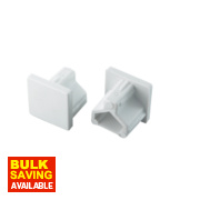 Tower End Cap 16 x 16mm Pack of 2
