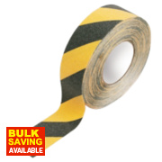 Anti-Slip Tape Black / Yellow 50mm x 18m