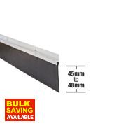 Stormguard Garage Seal Aluminium 2.5m