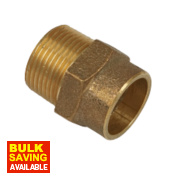 Yorkshire Solder Ring Male Coupler YP3 22mm x ¾