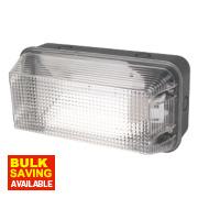 LAP 1052A Anti-Vandal Bulkhead Wall Light Black 60W