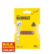 DeWalt 93 x 93mm 120 Grit Detail Sanding Sheets Pack of 10