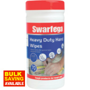 Swarfega Heavy Duty Hand Wipes Pack of 70