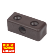 Dark Brown Assembly Joint Pack of 10