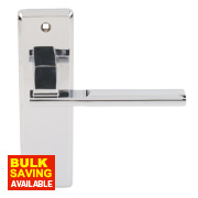 Jedo Delta Door Handle Pack Polished Chrome