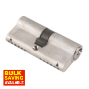 ERA 6-Pin Euro Cylinder Lock 35-35 (70mm) Satin Nickel