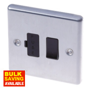 LAP 13A Switched Fused Connection Unit Stainless Steel