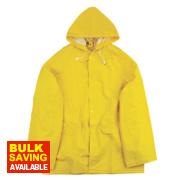 Endurance Rainmaster 2-Piece Waterproof Rain Suit Yellow Large 42-44