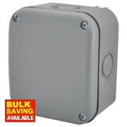 IP55 Enclosure Grey 85 x 75 x 65mm