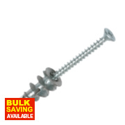 Spit Driva TF27 Countersunk Metal Plasterboard Fixings 50mm Pack of 100