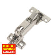 Titus Sprung Clip-On Door Hinges 170° 35mm Pack of 2