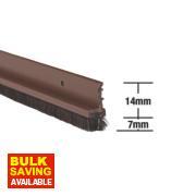Stormguard Door & Window Strips Brown 1.05mm