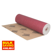 Tredaire Softwalk Polyurethane Foam Carpet Underlay 9mm 15.07m² Red