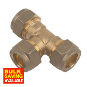 Equal Tee 15mm Pack of 10