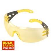 Uvex Pheos Amber Lens Safety Specs