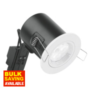 Aurora 30, 60 & 90min Fire Rated Fixed LED Downlight IP20 White 50W