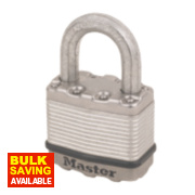 Master Lock Excell Laminated Padlock 50mm