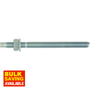 Rawlplug Studs Silver M10 x 130mm Pack of 10