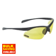 Stanley 10 Base Curve Amber Lens Safety Specs
