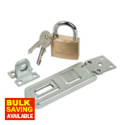 Sterling 100mm Hasp & Staple