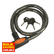 Master Lock Braided Steel Armoured Cable 1m x 18mm