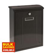 Yale Maryland Post Box Black Satin Steel