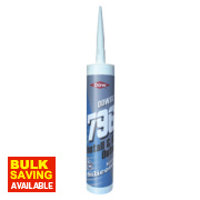 Dow Corning 796 uPVC Silicone Sealant Brilliant White 310ml