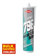 Dow Corning 796 uPVC Silicone Sealant Brilliant White 310ml
