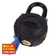 Squire All-Weather Padlock Shackle Brass 58mm