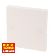 1-Gang Blanking Plate White